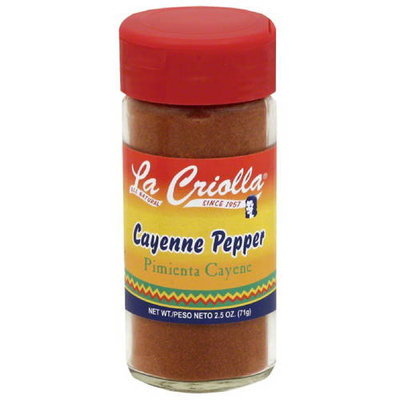 La Criolla Cayenne Pepper, 2.5 oz, (Pack of 12)