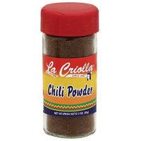 La Criolla Chili Powder, 3 oz, (Pack of 12)