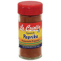 La Criolla Spanish Paprika, 2.75 oz, (Pack of 12)