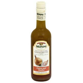 Monini Italian Selection Vinaigrette Onion and Shallot, 12.68 fl oz, (Pack of 6)