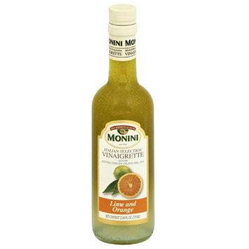 Monini Italian Selection Vinaigrette Lime and Orange, 12.68 fl oz, (Pack of 6)