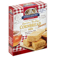 Calhoun Bend Mill Premium Sweet Honey Butter Cornbread Mix, 8 oz, (Pack of 6)