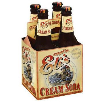 Captain E Capt'n Eli's Cream Soda, 12 oz, 24 count, (Pack of 6)