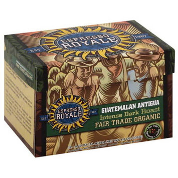 Espresso Royale Guatemalan Antigua Intense Dark Roast Coffee K-Cups, 4.8 oz, (Pack of 6)