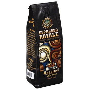 Espresso Royale Hazelnut Light Roast Coffee Beans, 12 oz, (Pack of 6)