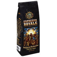 Espresso Royale Solidario Guatemalan Full City Roast Coffee Beans, 12 oz, (Pack of 6)