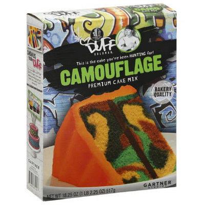 Duff Decorating Duff Goldman Camouflage Premium Cake Mix, 18.25 oz, (Pack of 12)