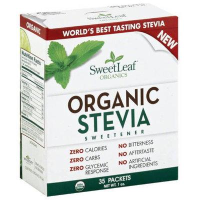 Sweetleaf Stevia SweetLeaf Organic Stevia Sweetener, 1 oz, (Pack of 12)