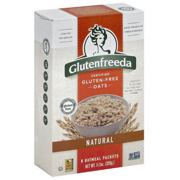 Glutenfreeda's Glutenfreeda Gluten-Free Instant Natural Oatmeal, 11.2 oz, (Pack of 8)
