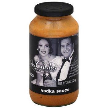 Da Giulia Gourmet Italian Vodka Sauce, 26 oz, (Pack of 12)
