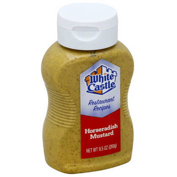White Castle Horseradish Mustard Sauce, 9.5 oz, (Pack of 6)
