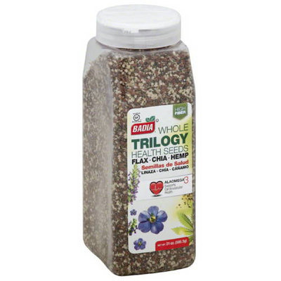 Badia Whole Trilogy Health Seeds, 21 oz, (Pack of 6)