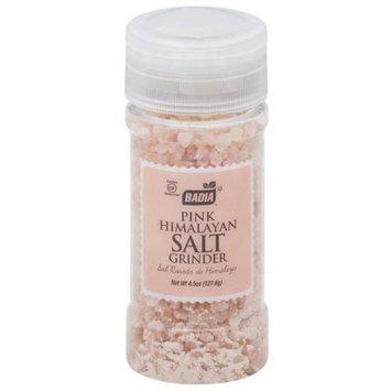 Badia Pink Himalayan Salt Grinder, 4.5 oz, (Pack of 12)