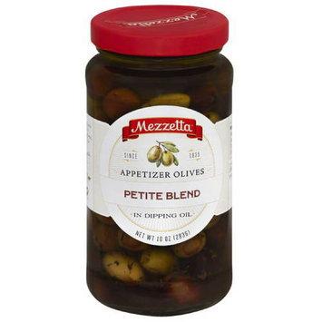 Mezzetta Petite Blend Appetizer Olives in Dipping Oil, 10 oz, (Pack of 6)