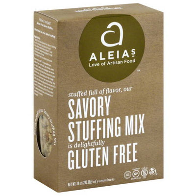 Aleia's Aleias Gluten Free Savory Stuffing Mix, 10 oz, (Pack of 6)