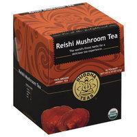 Buddha Teas Reishi Mushroom Tea, 0.83 oz, (Pack of 6)