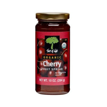 Tree Of Life Fruit Spread Cherry Org 10 Oz