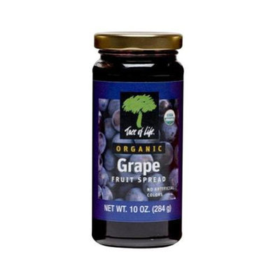Tree Of Life Fruit Spread Grape Org 10 Oz