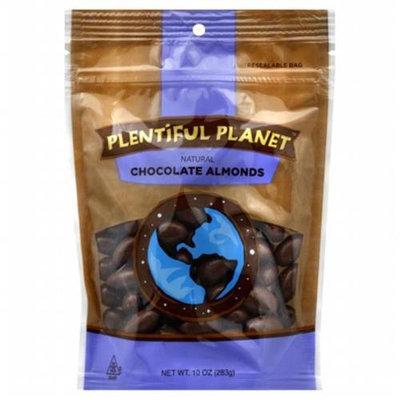 Plentiful Planet Choc Almond Bag 10 OZ (Pack of 6)