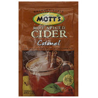 Mott's Hot Spiced Caramel Cider Drink Mix, .74 oz (Pack of 15)