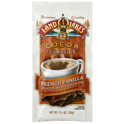 Land O'Lakes French Vanilla & Chocolate Cocoa Mix, 1.25 oz (Pack of 12)
