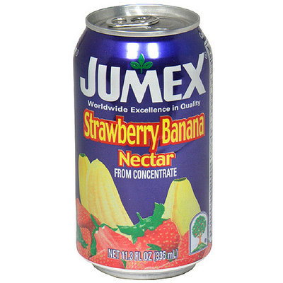 Jumex Strawberry & Banana Nectar, 11.3 oz (Pack of 24)
