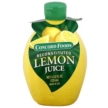 Concord Foods Lemon Juice, 4.5 oz (Pack of 24)