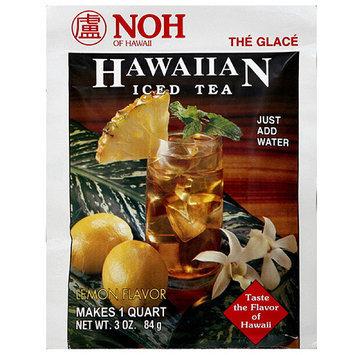 Noh Of Hawaii Hawaiian Lemon Flavored Iced Tea Mix, 3 oz (Pack of 10)