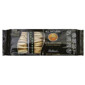 Roland Nori Seaweed Rice Crackers, 3.5 oz (Pack of 12)