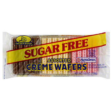 Golden Batch Assorted Creme Wafers, 5.5 oz (Pack of 24)