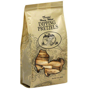 East Shore Specialty Foods Twisted Honey Wheat Dipping Pretzels, 5 oz (Pack of 18)