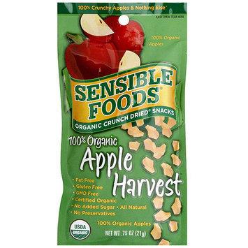 Sensible Foods Apple Harvest Crunch Dried Fruit, 0.75 oz (Pack of 12)