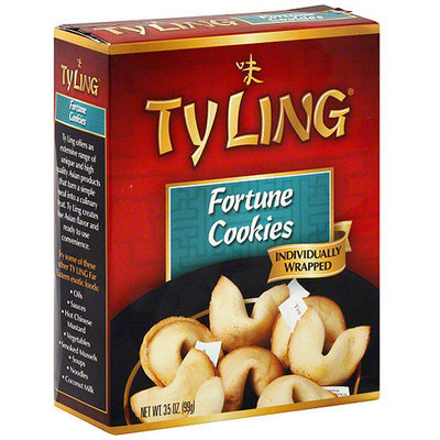 Ty Ling Fortune Cookies, 3.5 oz (Pack of 12)