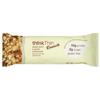 think Thin Crunch White Chocolate Dipped Mixed Nuts Bars, 1.41 oz (Pack of 10)