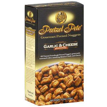 Pretzel Pete Garlic & Cheese Pretzel Nuggets, 5.25 oz (Pack of 12)
