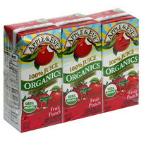 Apple & Eve Organics Fruit Punch Juice, 6.75 fl oz, 3ct (Pack of 9)