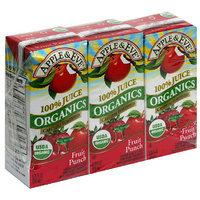 Apple & Eve Organics Fruit Punch Juice, 6.75 fl oz, 3ct (Pack of 9)
