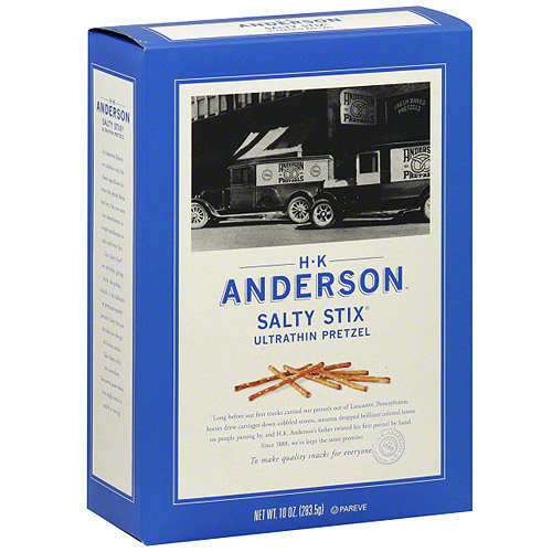 H.K. Anderson Ultrathin Pretzel Stix, 10 oz (Pack of 12)