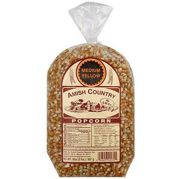 Amish Country Popcorn Medium Yellow Popcorn, 32 oz (Pack of 8)