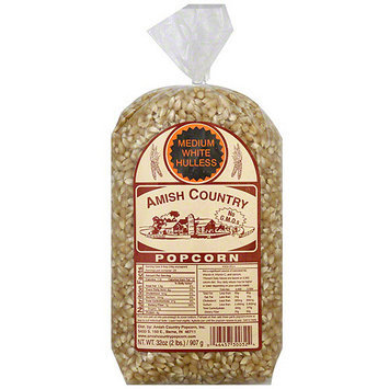Amish Country Popcorn Medium White Popcorn, 32 oz (Pack of 8)