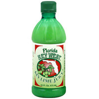 Florida Key West Key Lime Juice, 16 oz (Pack of 12)