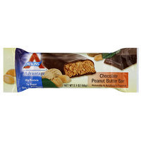 Atkins Chocolate Peanut Butter Meal Bar, 2.1 oz (Pack of 12)