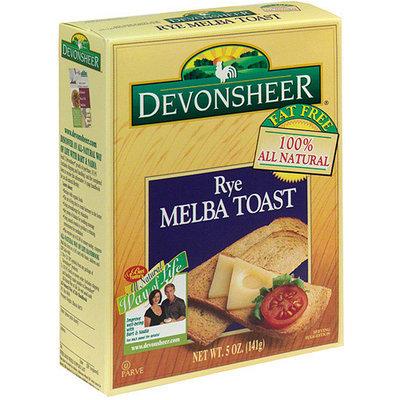 Devonsheer Rye Melba Toast, 5 oz (Pack of 12)