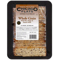 Chicago Flats Whole Grain Flatbread With Seeds, 8 oz (Pack of 10)