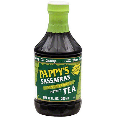 Pappy's Sassafras Instant Tea Concentrate, 12 oz (Pack of 6)