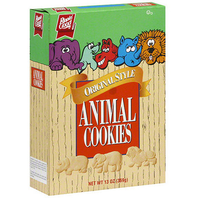 Rippin Good Rippin' Good Original Style Animal Cookies, 13 oz (Pack of 12)