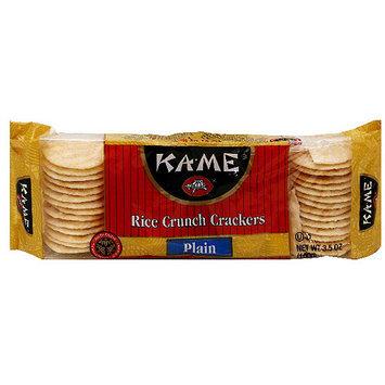 Kame Ka-Me Original Rice Crackers, 3.5 oz (Pack of 12)
