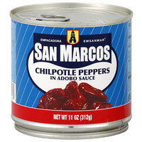 San Marcos Chipotle Peppers in Adobo Sauce, 11 oz, (Pack of 12)