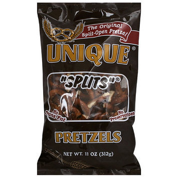 Unique Splits Pretzels, 11 oz (Pack of 12)