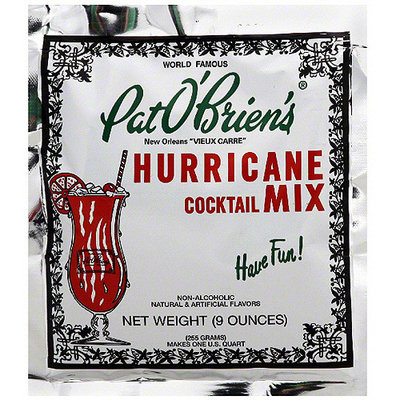 Pat O'Brien's Hurricane Cocktail Mix, 9 oz (Pack of 12)